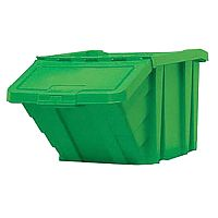 Heavy Duty Storage Bin with Lid Green 359520