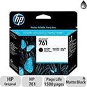 Hewlett Packard No761 Design Jet Print Head Matte Black CH648A