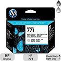Hewlett Packard No771 Design Jet Print Head Photo Black/Light Grey CE020A