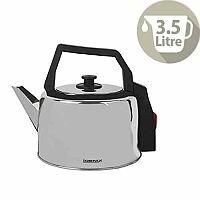 Igenix Corded Catering Kettle Capacity 3.5 Litre Steel IG4350