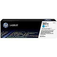 HP 201X Original JetIntelligence LaserJet Toner Cartridge High Yield Cyan CF401X