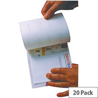 Identibadge Self-Seal Laminating Pouch Card A4 Pack of 20