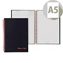 Black n' Red A5 Wirebound Smart Book 100080192