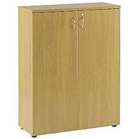 Jemini 1000mm Cupboard 1 Shelf Oak KF838429