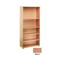 Jemini 1800mm Bookcase 4 Shelf Beech KF838414