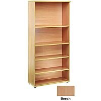 Jemini 2000mm Bookcase 4 Shelf Beech KF838415