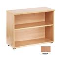 Jemini 730mm Bookcase 1 Shelf Beech KF838412