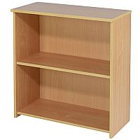Jemini Intro 800mm High Small Bookcase Bavarian Beech