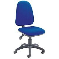 Jemini High Back Tilt Task Operators Office Chair Blue