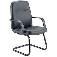 Jemini Visitor Chair Cantilever Legs Black KF03432