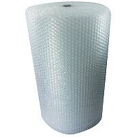 Jiffy Large Cell Clear Bubble Wrap Film Roll 1200mm x 45m