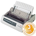 Oki Microline 3390 Dot Matrix Printer