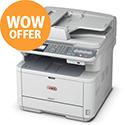 OKI MB471dnw Wireless Mono Multifunction Printer A4