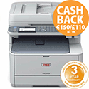 OKI MC562dnw Colour Multifunction Laser Printer A4