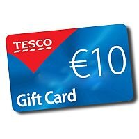 Tesco €10.00 shopping voucher