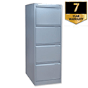 Bisley 4 Drawer Filing Cabinet Goose Grey BS4E