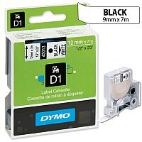 Dymo D1 Tape 45014 12mm x 7m Blue on White S0720540