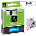 Dymo D1 Tape 45014 12mm x 7m Blue on White S0720540