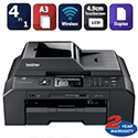 Brother MFC-J5910DW A3 Multifunction Printer Colour Inkjet