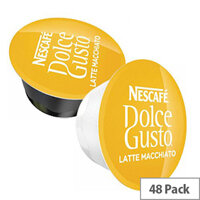 Nescafe Latte for Dolce Gusto Machine Capsules - Makes 24 Drinks