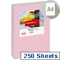 A4 Light Pink Coloured Card Multifunctional 160gsm Canon (Pack of 250 Sheets)