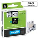 Dymo D1 Tape 40913 9mm x 7m Black on White S0720680