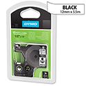 Dymo D1 Tape 16957 12mm x 3.5m Black on White S0718040