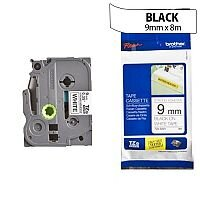 Brother TZ221 P-touch TZ Label Tape 9mm x 8m Black on White