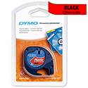 Dymo LetraTag Tape Plastic 91203 12mm x 4m Cosmic Red S0721630