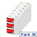 Toilet Tissue Pack 36, 5 Star 320 Sheets Rolls White