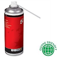 5 Star Office Spray Air Duster 400ml Can - HFC Free Compressed gas to remove debris and dirt from hard to reach areas - can be used on all printers, keyboards and other office equipment