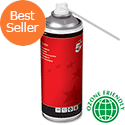 5 Star Office Spray Air Duster Can HFC Free Compressed Gas Flammable 400ml