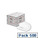 Postmaster DL White Envelopes Wallet Gummed Window 90gsm Pack 500