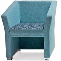 Jill Single Seater Armchair Blue