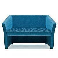 Jill Two Seater Sofa Blue