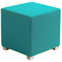 Link Cube Stool Blue