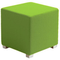 Link Cube Stool Green