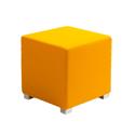 Link Cube Stool Orange