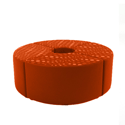 Link Quadrant Stool Orange