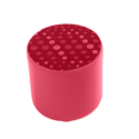 Link Radius Circular Stool Red
