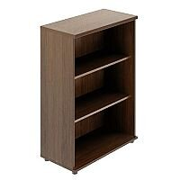 Quando Open Bookcase 1129H x 432D x 801W 3 Levels - Chestnut
