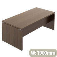 Quando Executive Desk 1900 x 900mm - Chestnut