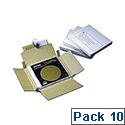 Kendon Cd Mailer 145X126X14Mm Pk10 Wht
