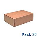 Kendon Mail Box M 325X240X105Mm Pk20 Brn