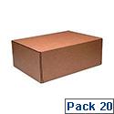 Kendon Mail Box Xl 460X340X175Mm P20 Brn
