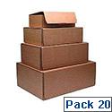 Kendon Mail Box Xs 245X150X33Mm Pk20 Brn