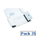 Kendon Mediapac Cd/Dvd 198X147X30Mm Pk25