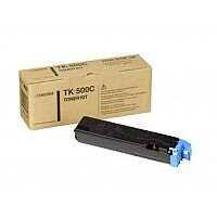 Kyocera Cyan TK-500C Toner Cartridge