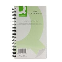 Q-Connect Wirebound Carbonless Duplicate Book 8x5 inches