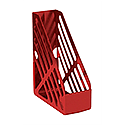 Q-Connect Foolscap Magazine Rack Red